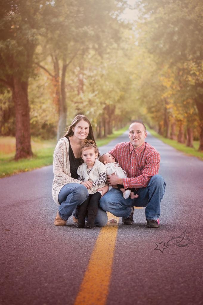 Cute family shot.