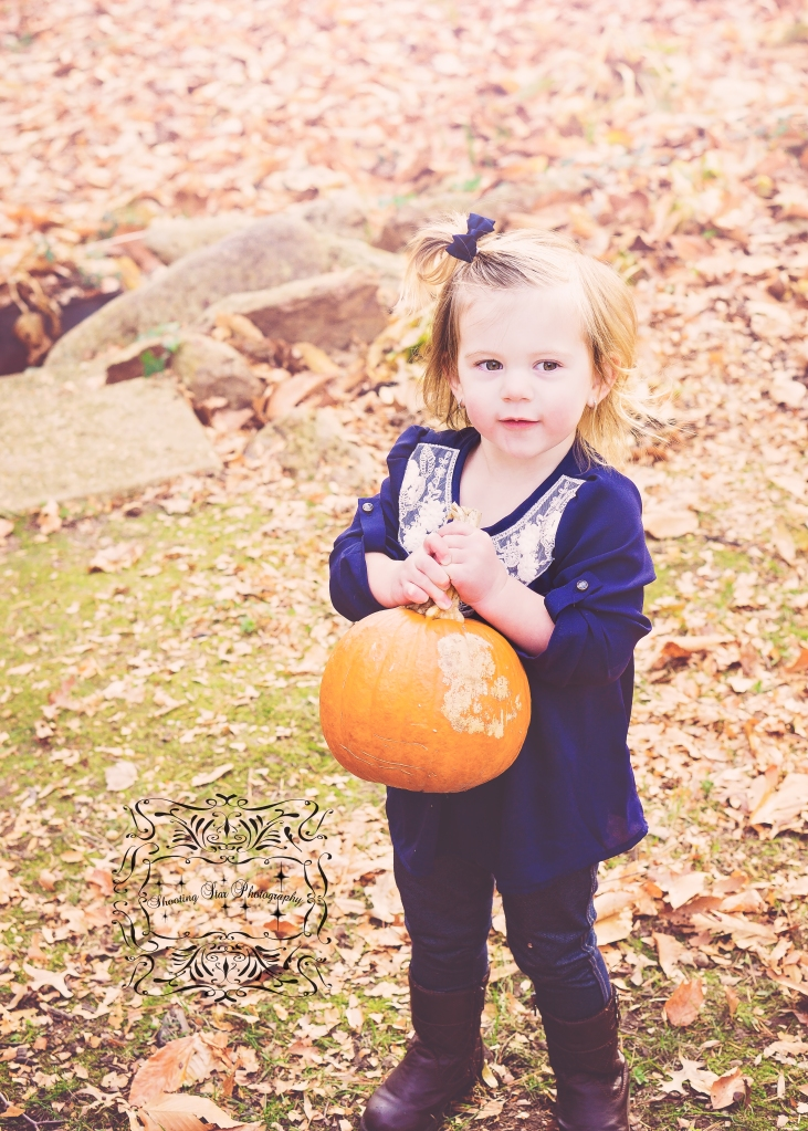 And we end with the cutest little pumpkin picker, ever!