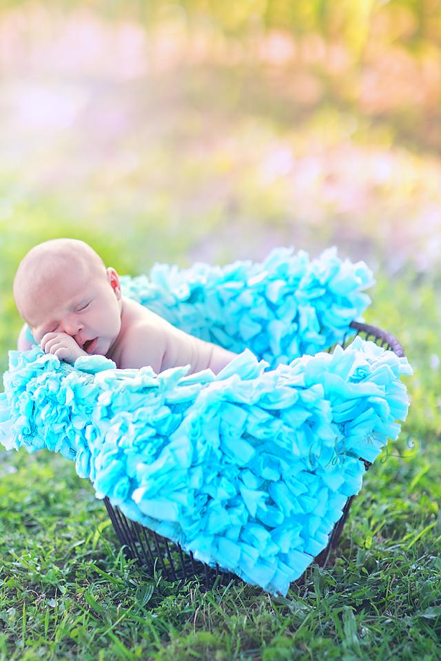 newborn outdoor baby